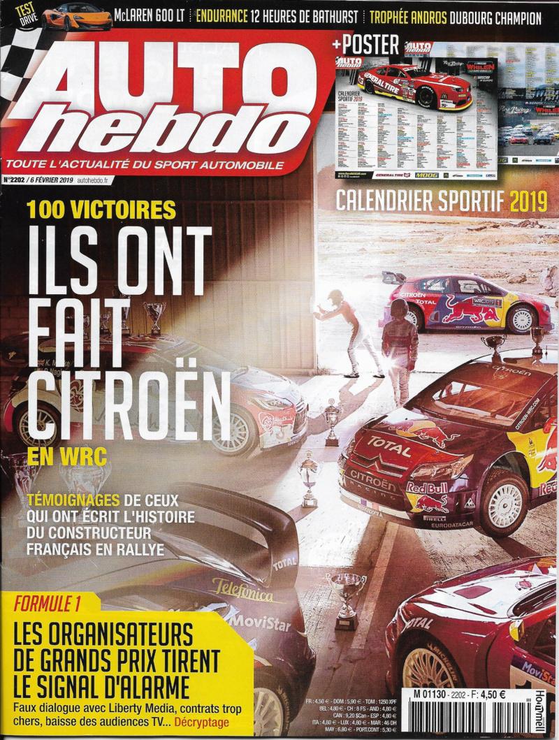 CITROËN, 100 ème victoire en WRC pour son CENTENAIRE ! Auto_h10