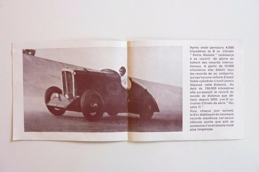 """Les """"Rosalie"""" Citroën des records YACCO Automo12"""