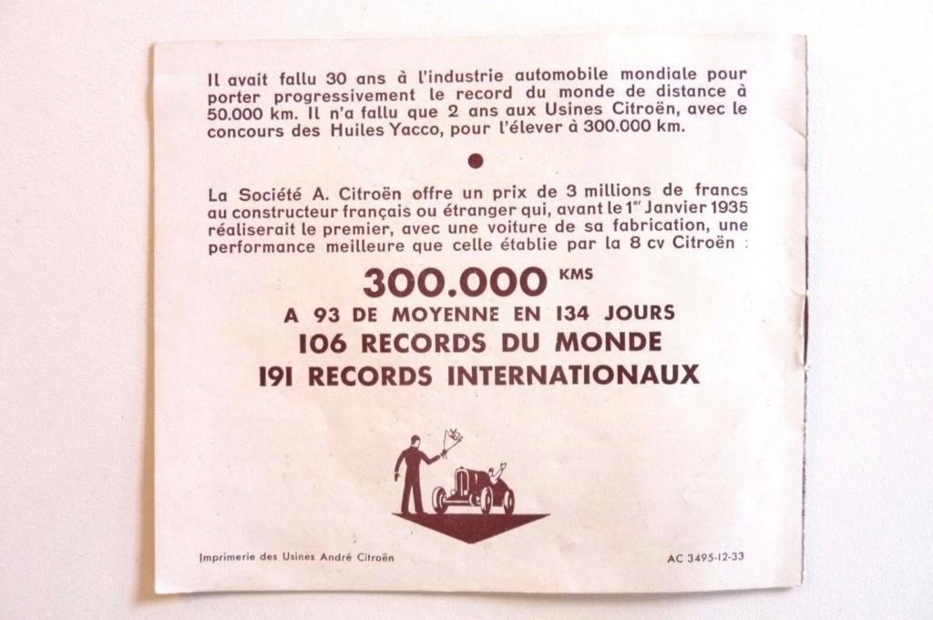 """Les """"Rosalie"""" Citroën des records YACCO Automo14"""