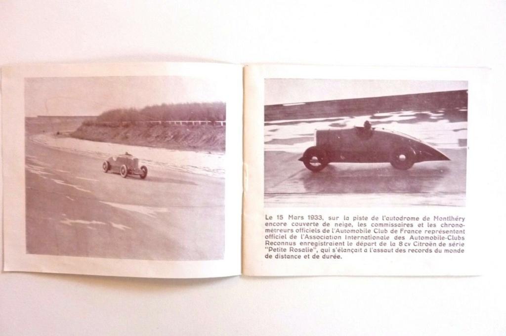 """Les """"Rosalie"""" Citroën des records YACCO Automo15"""