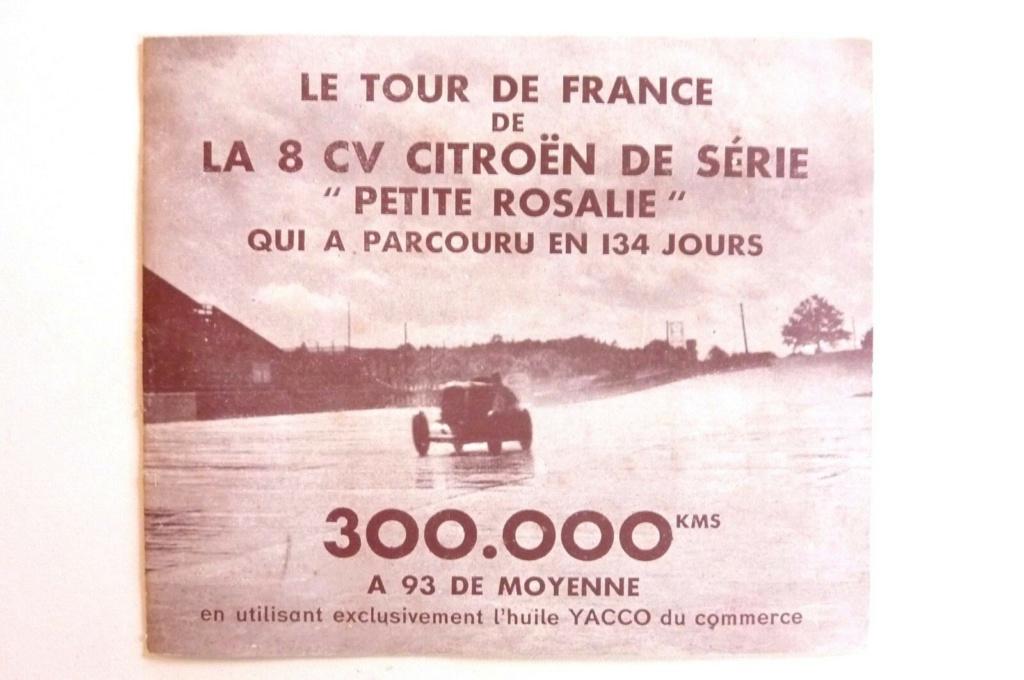 """Les """"Rosalie"""" Citroën des records YACCO Automo16"""