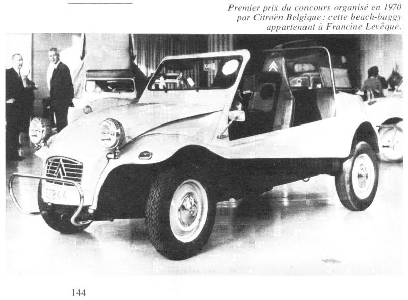 le Buggy 2CV de Roger Lambert en miniature  Beach-10