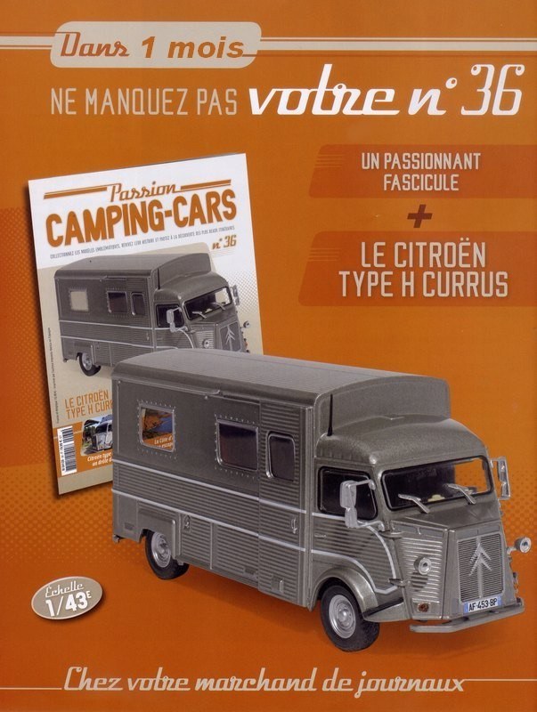 """2017 - Hachette Collections > """"Passion CAMPING-CARS"""" Big-7310"""