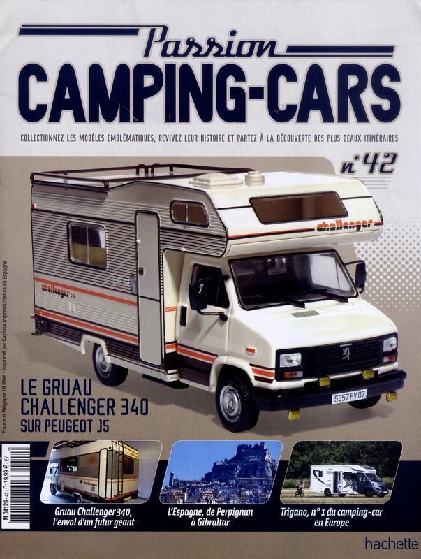 """2017 - Hachette Collections > """"Passion CAMPING-CARS"""" Big-7410"""