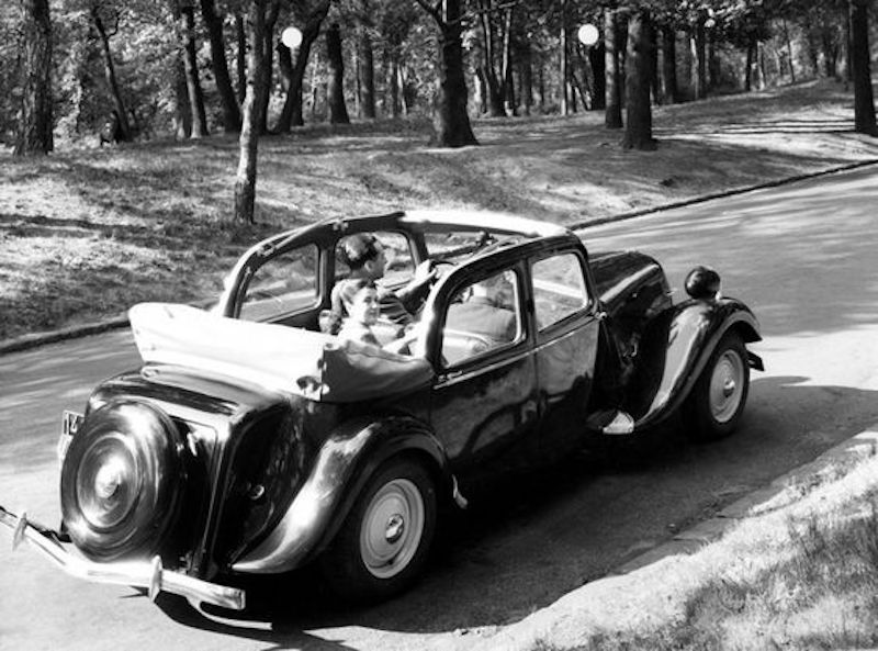 Citroën : les Traction Avant Citroën découvrables A.E.A.T. Ca514910