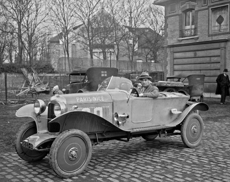 "B2 ""Caddy"" la première Citroën "" Sport ""  Captu100"
