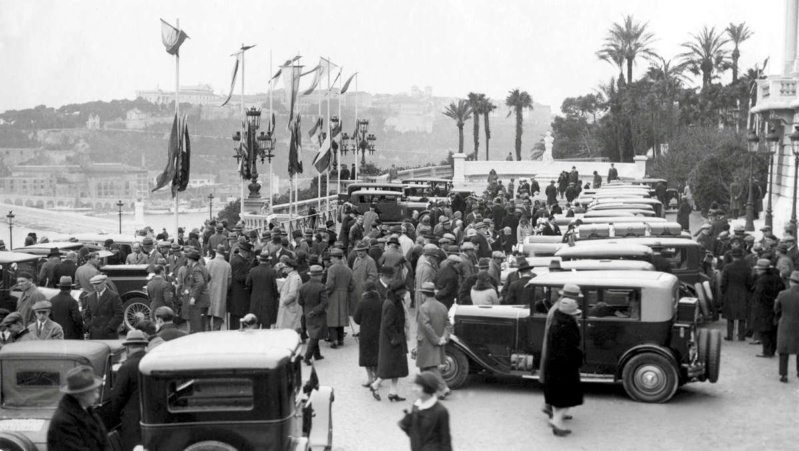 Une C6 au Rallye de Monte Carlo en 1930 Captur53