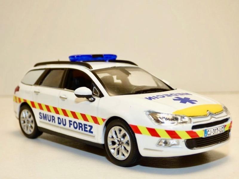 """Citroën miniatures > """"Ambulances, transports de blessés et assistance d'urgence aux victimes"""" Citroe15"""