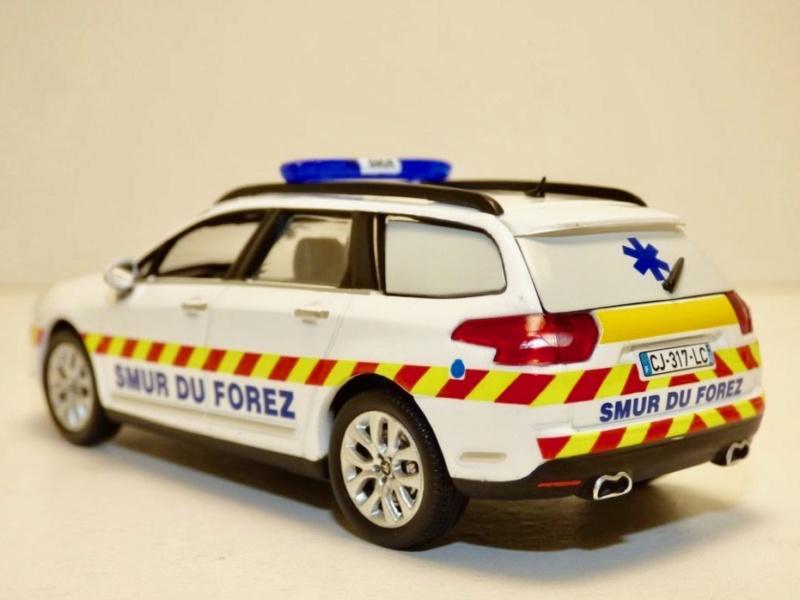 """Citroën miniatures > """"Ambulances, transports de blessés et assistance d'urgence aux victimes"""" Citroe16"""