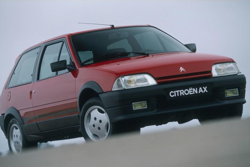 L'AX GTi, la plus performante des AX Citroe18