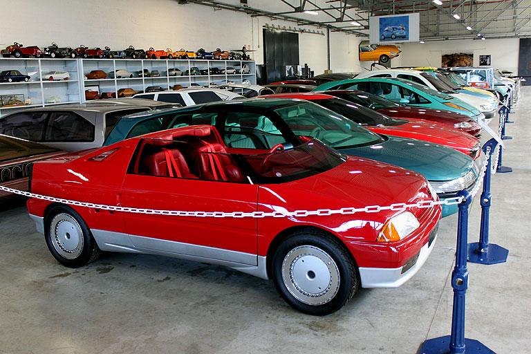 1986 - Citroën Xanthia, concept car petit roadster dérivé de l'AX Citroe58