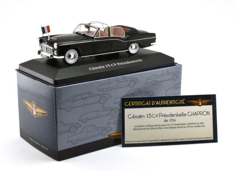 ATLAS Collection Carrossier HENRI CHAPRON Citroe68