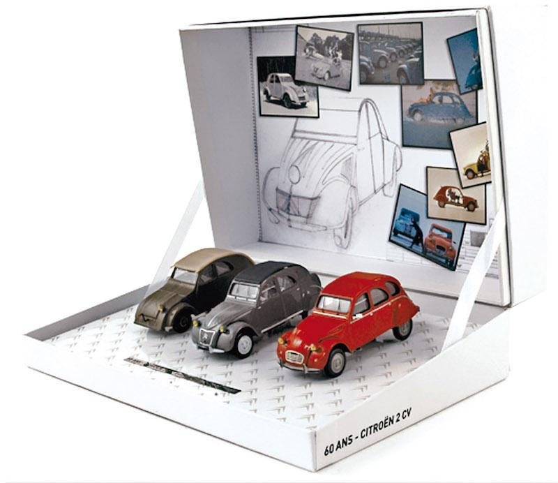 Citroën miniatures, on a fêté la 2CV Coffre14
