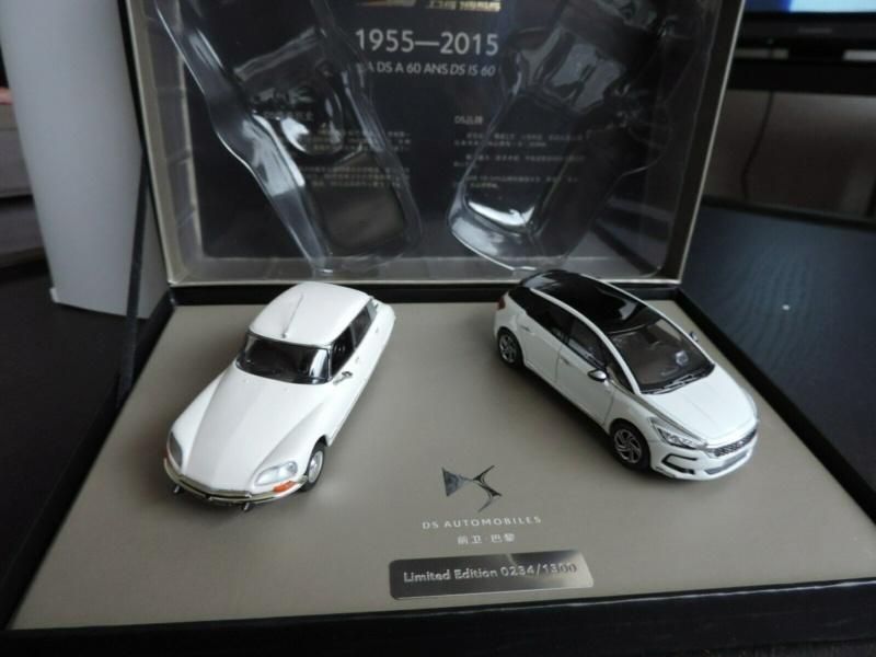 Citroën miniatures, on a fêté la DS Coffre15