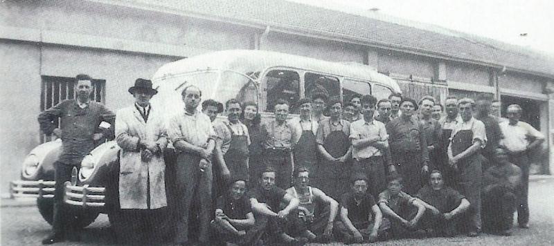 Citroën Autocar U23 de 1948 carrossé par Belle-Clot Dessin10