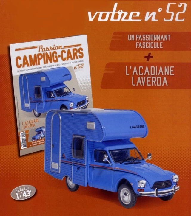 """2017 - Hachette Collections > """"Passion CAMPING-CARS"""" Dyane_10"""