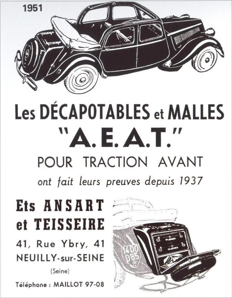 Citroën : les Traction Avant Citroën découvrables A.E.A.T. Ec6fda10