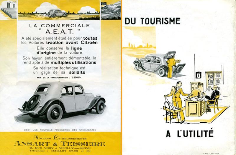Citroën : les Traction Avant Citroën découvrables A.E.A.T. Malle-10