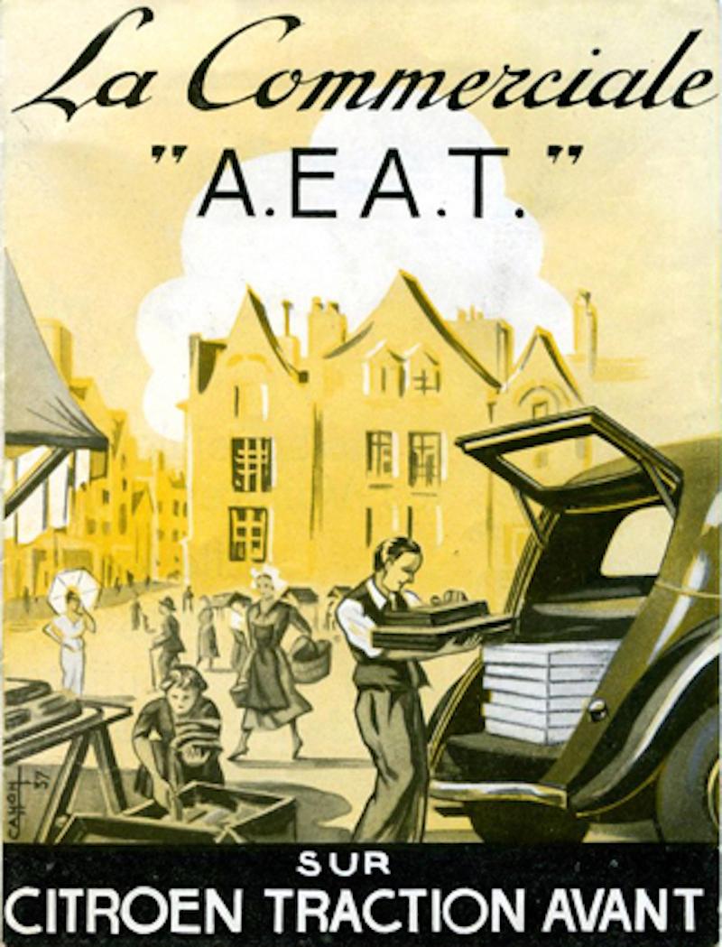Citroën : les Traction Avant Citroën découvrables A.E.A.T. Malle-11