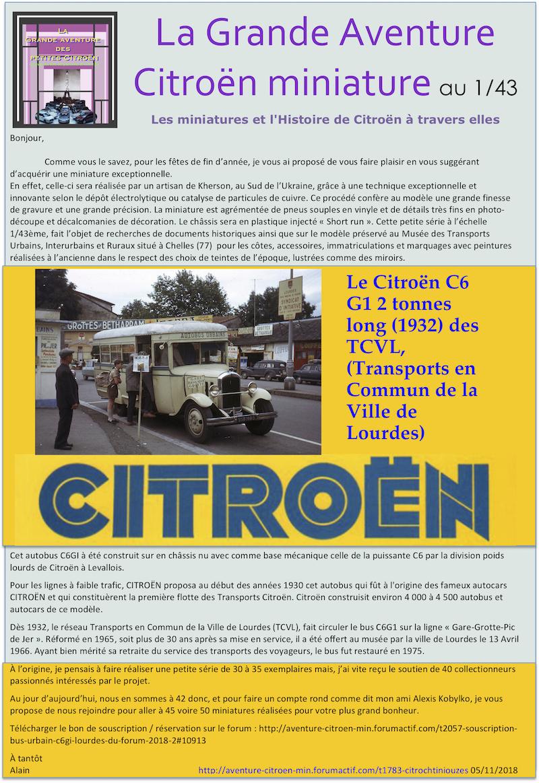 AUTOBUS CITROËN au 1/43 : un nouveau projet de souscription d'Alain News_r10