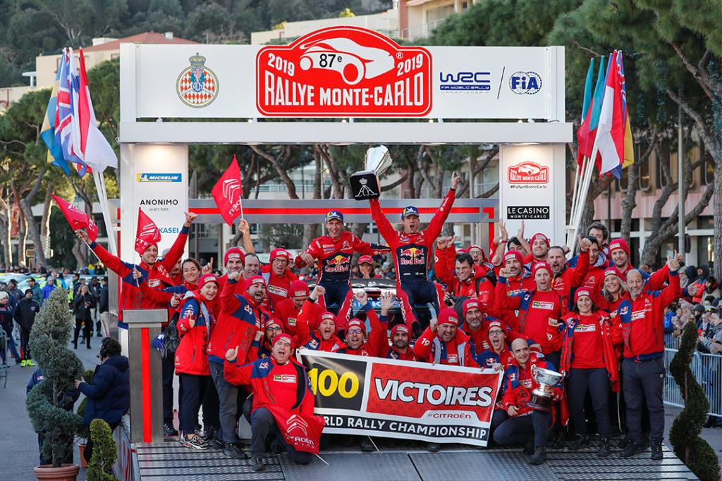 CITROËN, 100 ème victoire en WRC pour son CENTENAIRE ! Ogier-10