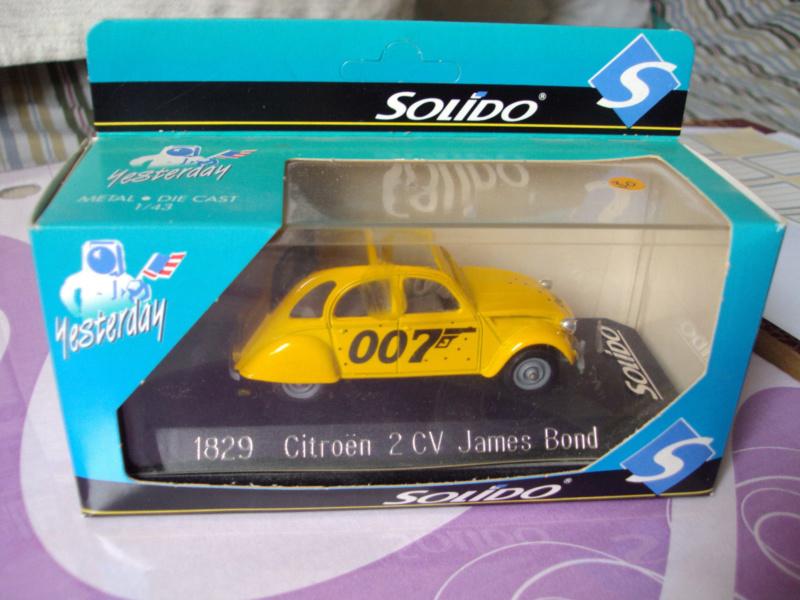 Citroën miniatures, on a fêté la 2CV S-l16027