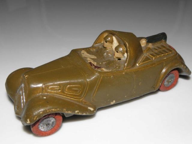 Citroën, les jouets : Où est passée la traction de la 7éme compagnie? Tracti11