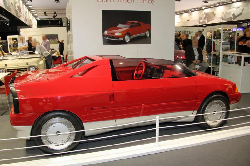 1986 - Citroën Xanthia, concept car petit roadster dérivé de l'AX Xanthi10