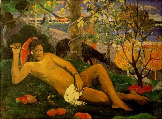 PEINTURE FRANCAISE: un mouvement, un peintre, une oeuvre - Page 2 Gaugui10