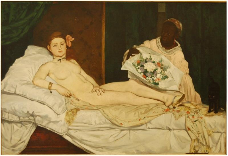 PEINTURE FRANCAISE: un mouvement, un peintre, une oeuvre - Page 2 Manet_10