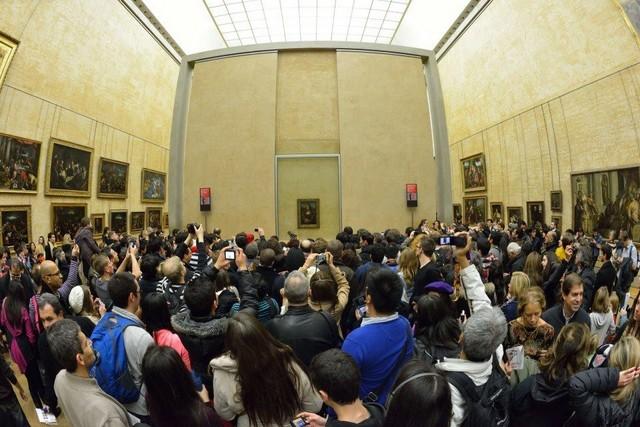 Le Louvre, ses fantômes et ses stars Photo_31
