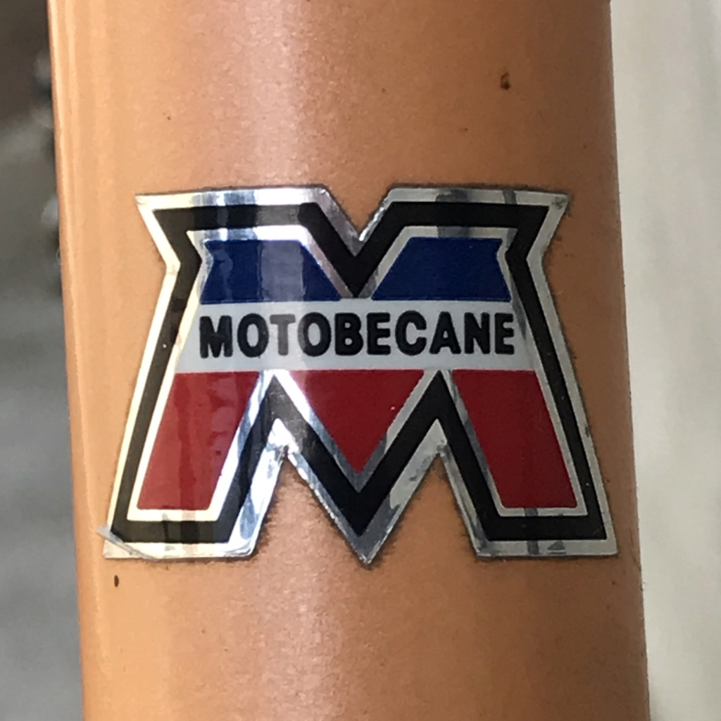 Motobécane C4 neuf. Logo12