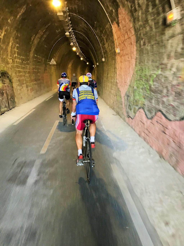 Tour du Lac d'Annecy 2018 Tunnel10