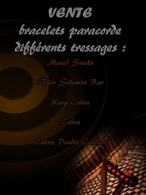 Bracelet Paracorde Flyers10