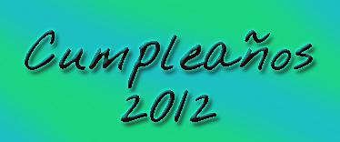 FESTEJOS 2012