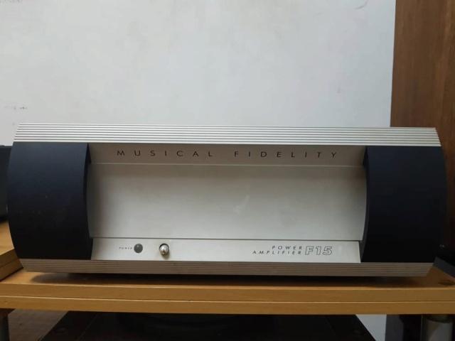 Musical Fidelity F15 Power amp Whatsa23