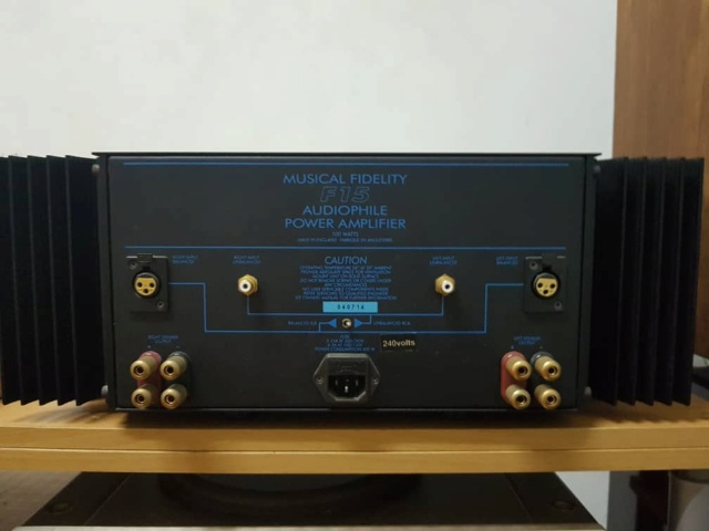 Musical Fidelity F15 Power amp Whatsa25