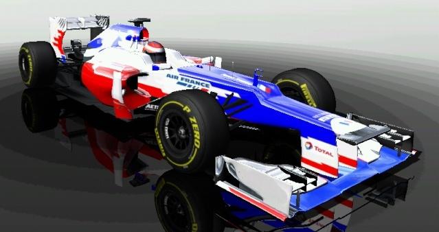 Pristatytas Force France FF-1 bolidas 111