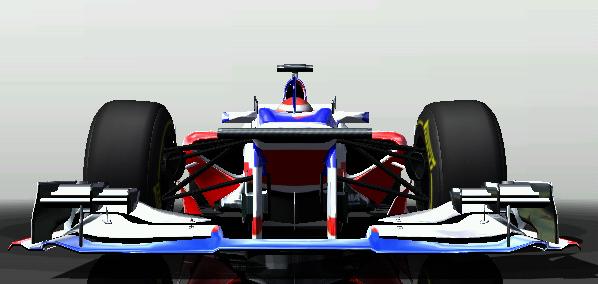 Pristatytas Force France FF-1 bolidas 212