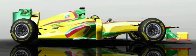 Pristatytas LRT Racing bolidas 213