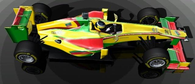 Pristatytas LRT Racing bolidas 411