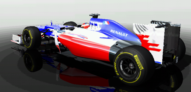 Pristatytas Force France FF-1 bolidas 412