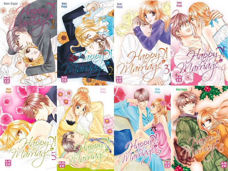 Shojo: Happy Marriage?! Tome 1 à 10 [Enjoji, Maki] Happy_10