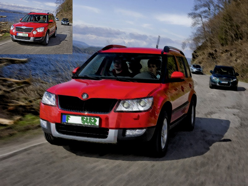 Le topic des illustrations Photoshop  Skoda-11