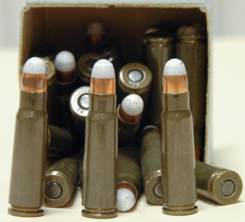 VZ58 et munitions à charge réduite. Cartou10