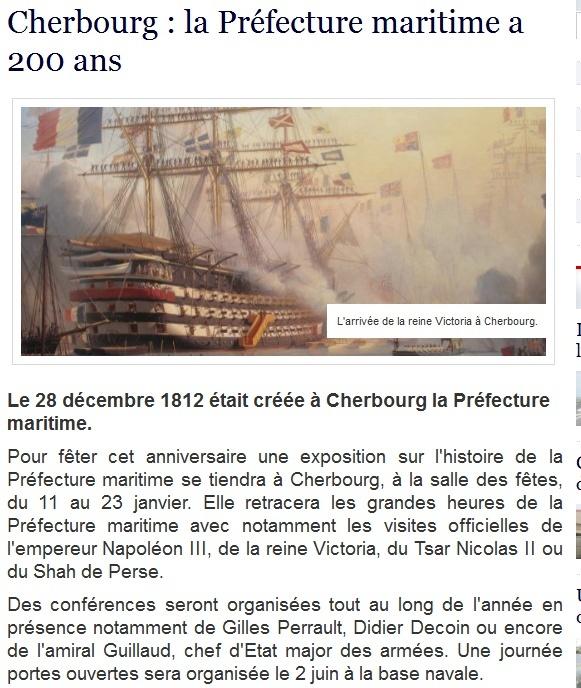 [Les états-major des ports et régions] MARINE CHERBOURG - Page 3 Premar10