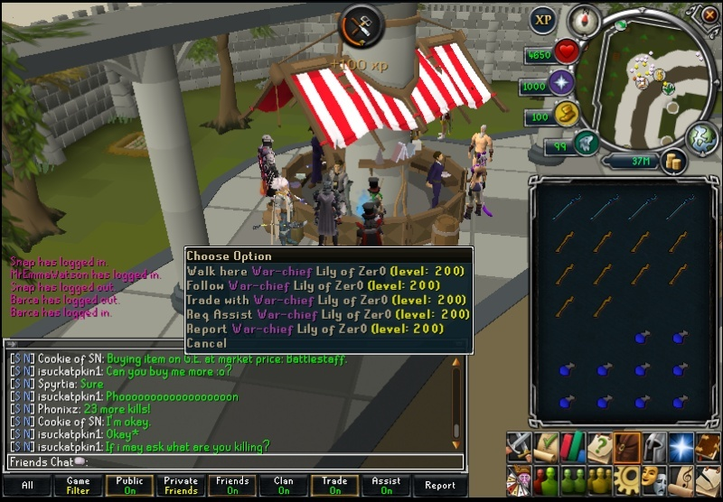 Celebrities on Runescape Lily_o10
