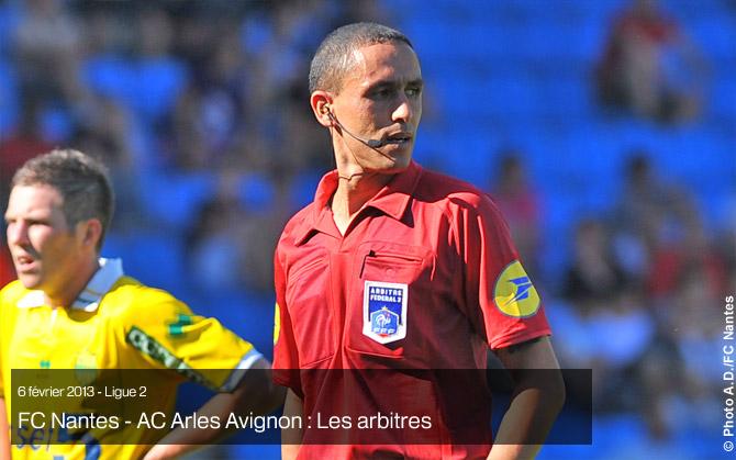 J24 - Samedi 9 février (14h00) : FC NANTES - ARLES AVIGNON : 1-1 Arbitr11