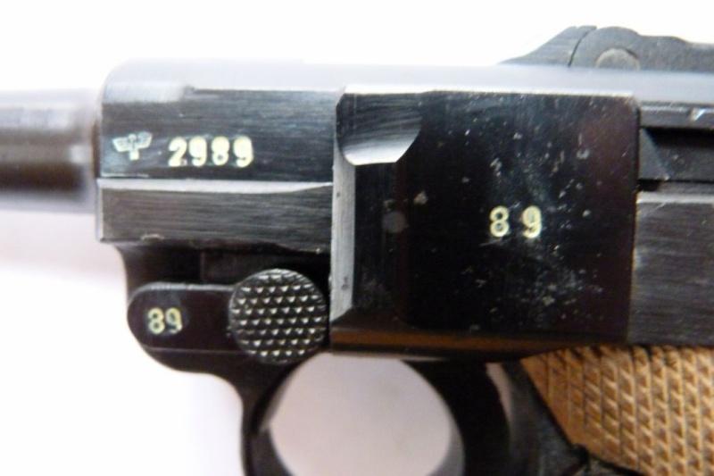 Luger produits par Mauser en 1945 & 1946 00510