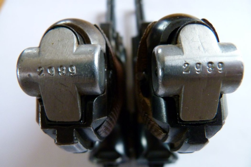 Luger produits par Mauser en 1945 & 1946 00910